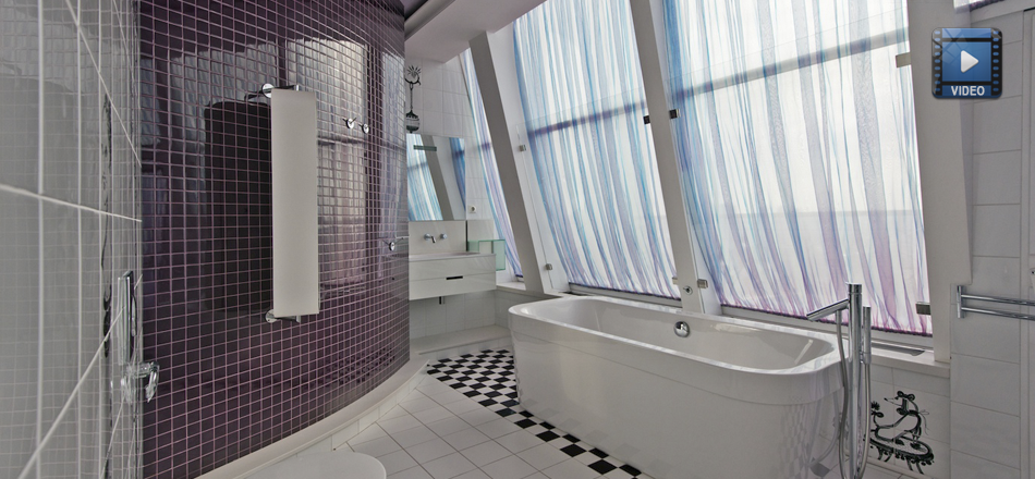 Amazing Bathroom With Accessories From Philippe Starck!