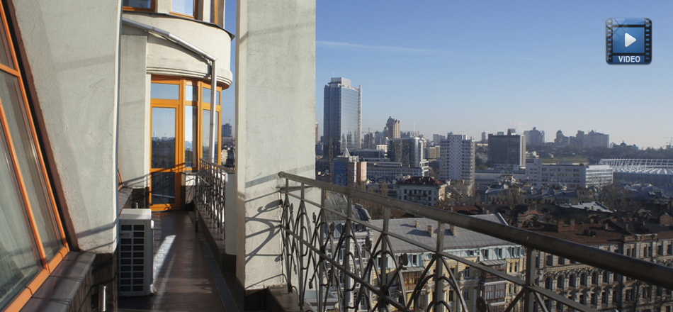 Breathtaking View Of Renowned Kiev Architecture